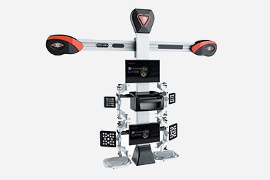 3D Achsvermessung mit Bildschirm