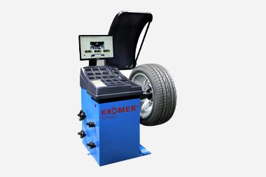 reifenwuchtmaschine mit display