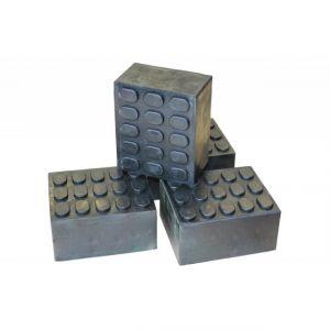 4x Gummiklötze Gummiauflage (10x12x5)