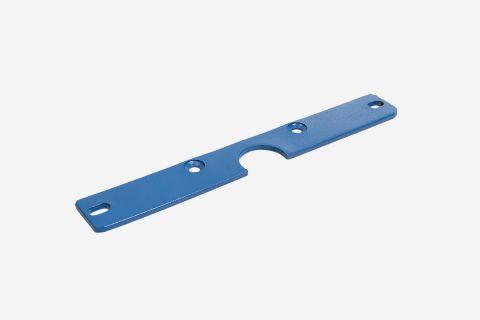 Abbildung: Stahlhalterung für Säulenabdeckung; geeignet für 2-Säulen-Hebebühnen