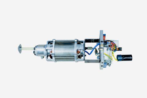 Abbildung: Elektromotor Pumpenblock