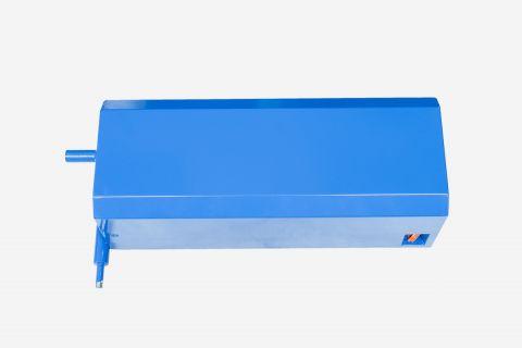 Abbildung: Metalltank für hydraulische Tauchpumpe