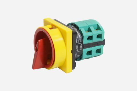 Abbildung: Haupt- bzw. Netztrennschalter für Scherenhebebühnen