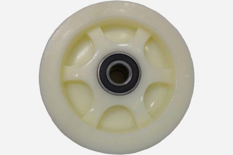 Abbildung: Rad für Fahrwerk (Scherenhebebühnen); Seitenansicht