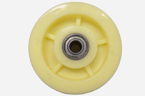 Abbildung: Rad für mobiles Fahrwerk der Scherenhebebühnen (Seitenansicht)