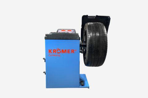 "Abbildung: Reifenwuchtmaschine ""Heilbronn"" in Blau"