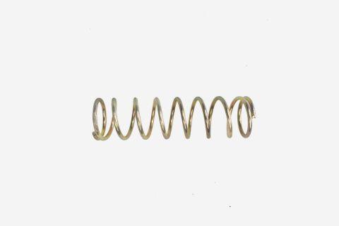 Abbildung: Sprungfeder mit einer Länge von 9 cm